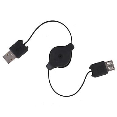 retractabil cablu de extensie USB (70cm-lungime)