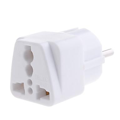 olcso Kábelek & adapterek-yongwei wp-9 univerzális európai hálózati csatlakozódugó fehér