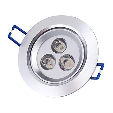 3 W Lumini Recessed Plafonieră 3000 lm Spot Încastrat 3 LED-uri de margele LED Putere Mare Alb Cald 85-265 V