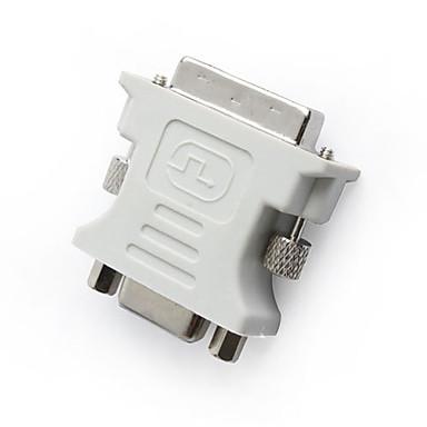 Недорогие VGA-Адаптер DVI-I Male на VGA (женский)