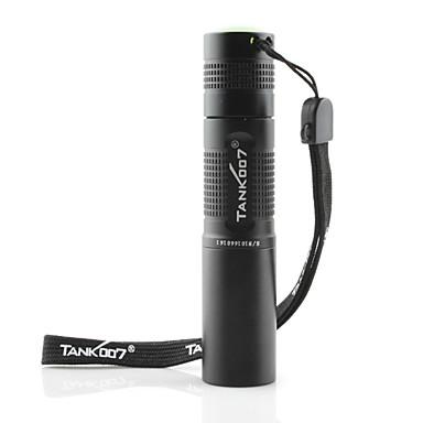 olcso Tank007-Tank007 LED zseblámpák UV fényes elemlámpák Kézi elemlámpák Vízálló LED - 1 Sugárzók 1 világítás mód Vízálló Az ultraibolya fény / Alumínium ötvözet