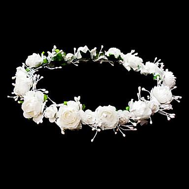 ieftine Bijuterii de Păr-headpieces coroană de flori de nunta flori fată cu flori minunate