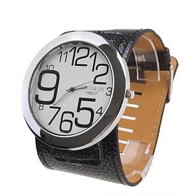Pentru femei Ceas La Modă Ceas de Mână Quartz Negru femei - Negru / Alb Un an Durată de Viaţă Baterie / SSUO 377