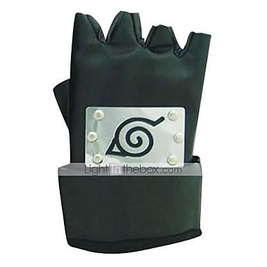 Mănuși Inspirat de Naruto Cosplay Anime Accesorii Cosplay Mănuși PU piele Bărbați / Pentru femei fierbinte Costume de Halloween
