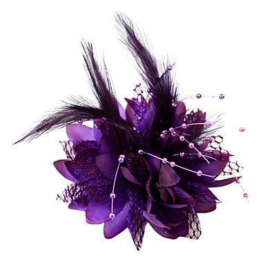 Cristal / Pană / Material Textil Diademe / Palarioare / Flori cu 1 Nuntă / Ocazie specială / Party / Seara Diadema