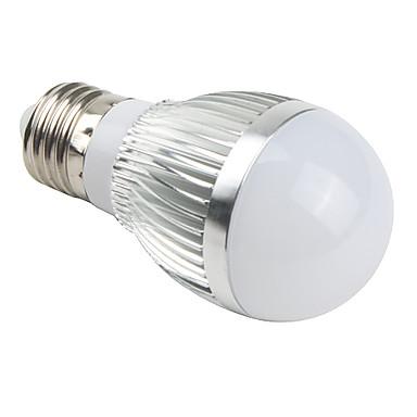 Bulb LED Glob 510 lm E26 / E27 A50 3 LED-uri de margele LED Integrat Alb Natural 85-265 V