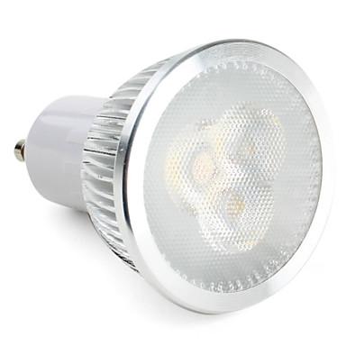 ZDM® 1 buc 3 W Spoturi LED 270 lm GU10 3 LED-uri de margele LED Putere Mare Intensitate Luminoasă Reglabilă Alb Natural 220-240 V