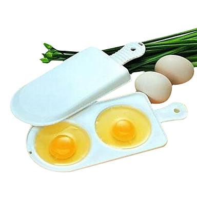 cuptor cu microunde cuptor de ouă Omeletă cutie dublă 2 ouă instrumente de umplere