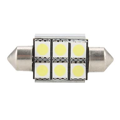 1 buc Festoon Becuri SMD LED 100-150 lm Pentru