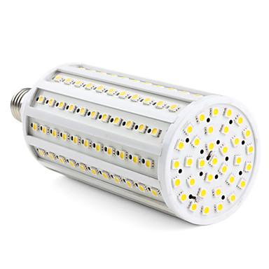 Becuri LED Corn 3000 lm E26 / E27 T 165 LED-uri de margele SMD 5050 Alb Cald 220-240 V