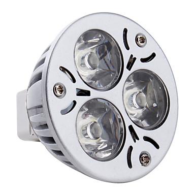 3 W Spoturi LED 260-300 lm GU5.3(MR16) MR16 3 LED-uri de margele LED Putere Mare Alb Natural 12 V