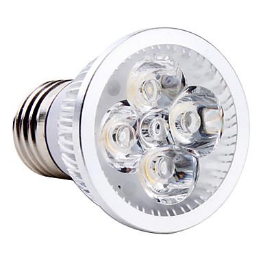 1 buc 4 W Spoturi LED 250LM E26 / E27 4 LED-uri de margele LED Putere Mare Alb Cald Alb Rece Alb Natural 85-265 V