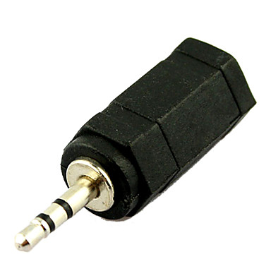 3 5mm Female Jack To 2 5mm Male Plug Audio Adapter Converter 326841