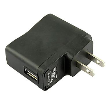 ne mufă USB AC DC de alimentare perete Adaptor încărcător MP3 MP4 DV încărcător (negru)
