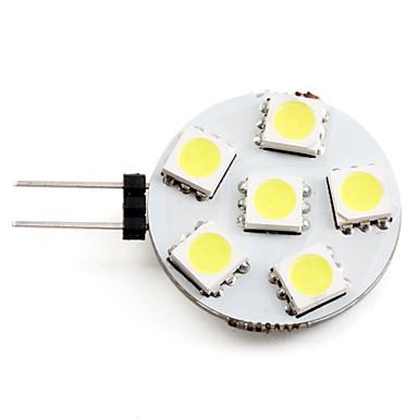 2 W Spoturi LED 2700 lm G4 6 LED-uri de margele SMD 5050 Alb Natural 12 V / #