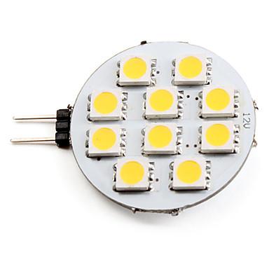 abordables Bulk Ampoules LED-Spot LED 2700 lm G4 10 Perles LED SMD 5050 Blanc Chaud 12 V