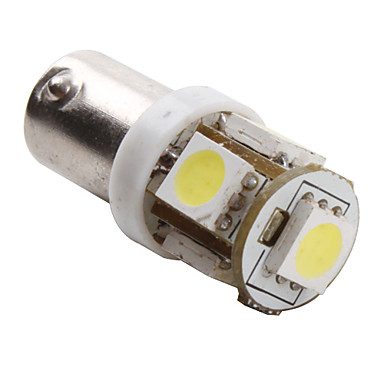 BA9S 1W 5x5050 SMD White Light LED Bulb for Car (DC 12V, 2-Pack ...