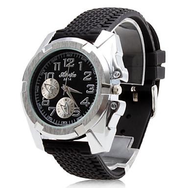 LCT pánské silikonové analogové quartz náramkové hodinky a614 gz0009001  (black) 316163 2018 – €8.99 88ab2e6827