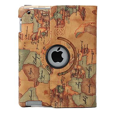 [€19.99] Gradi che girano la cassa e il basamento per iPad 2/3/4 (colori assortiti) 360 pu pelle