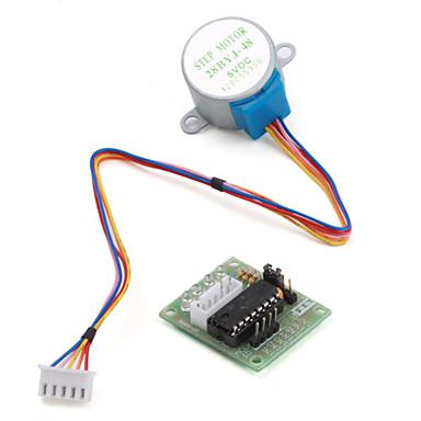 povoljno Motori i dijelovi-5v 4-fazna 5-žična upravljačka ploča s step-motorom uln2003 za arduino