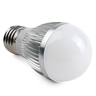 Bulb LED Glob 5000 lm E26 / E27 A50 15 LED-uri de margele SMD 5630 Alb Natural 220-240 V / # / CE