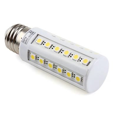 1 buc 4.5 W Becuri LED Corn 300LM E26 / E27 T 36 LED-uri de margele SMD 5050 Alb Cald Alb Rece Alb Natural 220-240 V