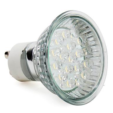 1 buc 1 W Spoturi LED 60-80 lm E14 GU10 E26 / E27 18 LED-uri de margele Dip LED Alb Cald Alb Rece 220-240 V