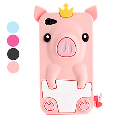 cute iphone 4s cases pig style protective silicone for iphone 4 and 1782