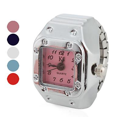 Pentru femei Ceas inel Piața de ceas Japoneză Quartz Argint Ceas Casual femei Vintage Modă - Rosu Albastru Roz Un an Durată de Viaţă Baterie / SSUO SR626SW