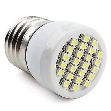 1 buc 1.5 W Spoturi LED 60-80 lm E26 / E27 T 24 LED-uri de margele SMD 2835 Alb Cald Alb Rece Alb Natural 220-240 V