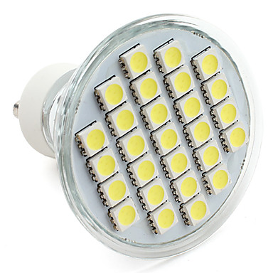 1 buc 3.5 W Spoturi LED 250-300 lm GU10 27 LED-uri de margele SMD 5050 Alb Cald Alb Rece Alb Natural 220-240 V