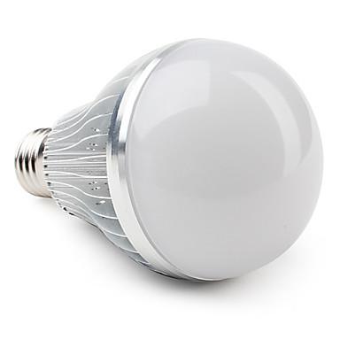 1 buc 12 W Bulb LED Glob 3000 lm E26 / E27 A80 12 LED-uri de margele LED Putere Mare Alb Cald 85-265 V