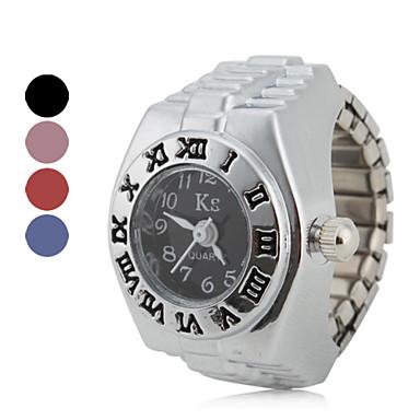 Pentru femei Ceas inel Japoneză Quartz Argint Ceas Casual femei Vintage Modă - Rosu Albastru Roz