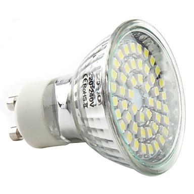 1 buc 3 W Spoturi LED 250-300 lm GU10 48 LED-uri de margele SMD 2835 Alb Cald Alb Rece Alb Natural 220-240 V