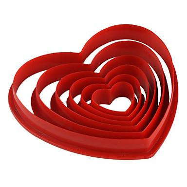 povoljno Pribor za pečenje i gadgeti-6kom plastika Eco-friendly Valentinovo Uradi sam Torta / kolači Keksi Pita kalupa za pečenje Bakeware alati
