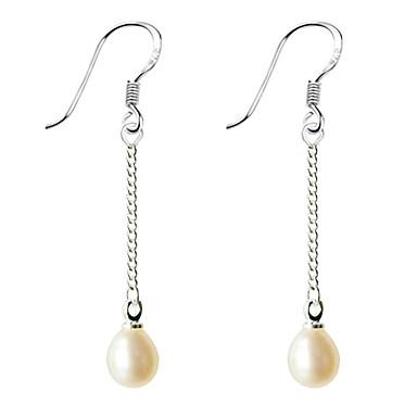 Pentru femei Perle Cercei Picătură femei Casul / Zilnic Modă Perle cercei Bijuterii Alb / Mov Pentru 1 buc