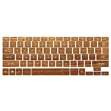 grano de madera cubierta de diseño de teclado de 13