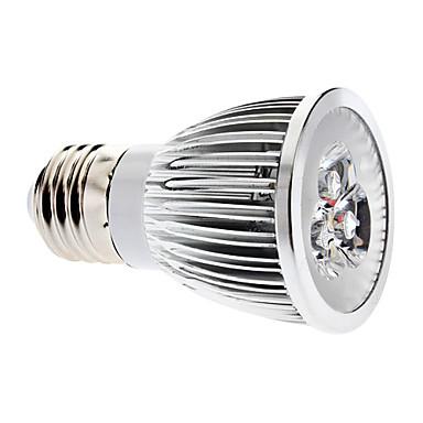 1 buc 3 W Spoturi LED 3000 lm E26 / E27 3 LED-uri de margele COB Intensitate Luminoasă Reglabilă Alb Cald 220-240 V / #