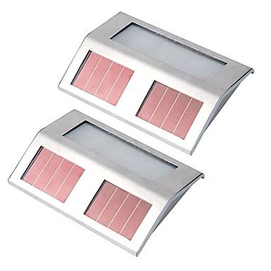2pcs Lumina de perete lumini de gradina LED-uri de margele LED Putere Mare Reîncărcabil Ușor de Instalat Decorativ Alb Natural
