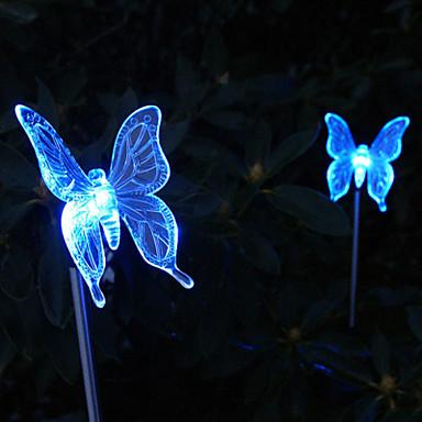 de schimbare a culorii fluture stil grădină lumina miza solare