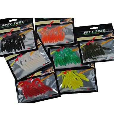 10 pcs Momeală moale PVC Pescuit mare / Pescuit de Apă Dulce / Pescuit Biban