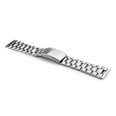 billiga Klockarmband-Klockarmband Rostfritt stål Klocktillbehör 0.078 Hög kvalitet