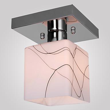 SL® Lumini Tavan Fixe Lumini Ambientale Galvanizat Metal Sticlă Stil Minimalist 110-120V / 220-240V / E26 / E27