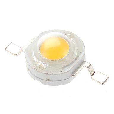 80-90 lm 3 V Aluminiu Cip LED 1 W