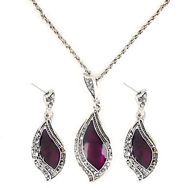Pentru femei Set bijuterii - Plastic Semilună femei, Modă Include Pentru Petrecere Zi de Naștere Logodnă Cadou Zilnic / Σκουλαρίκια / Coliere