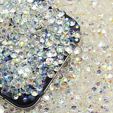 200 pcs Stras / Luciu Strălucire / #D Cristale / Strasuri 3mm Bijuterie unghii Ștrasuri Pentru Unghie nail art pedichiura si manichiura Petrecere / Seară Șic & Modern / Modă