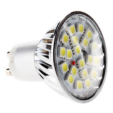 6000 lm GU10 Spoturi LED MR16 20 led-uri SMD 5050 Alb Natural AC 220-240V