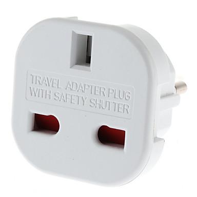 povoljno AC adapteri i kablovi za napajanje-EU plug višestrukoj plug univerzalnog punjača s okruglog sigurnosti zatvarača (110-240V)