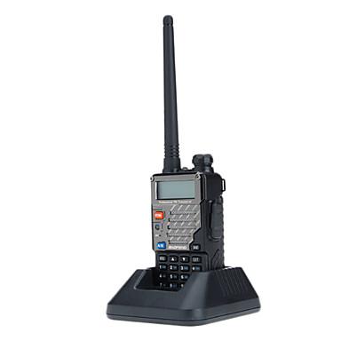 Noua versiune (vhf136-174MHz UHF 400-480MHz) VHF / UHF dual-band două fel de radio