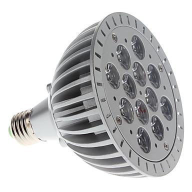 Culoarea becului crescând 1200 lm E26 / E27 PAR38 12 LED-uri de margele LED Putere Mare Purpuriu 85-265 V